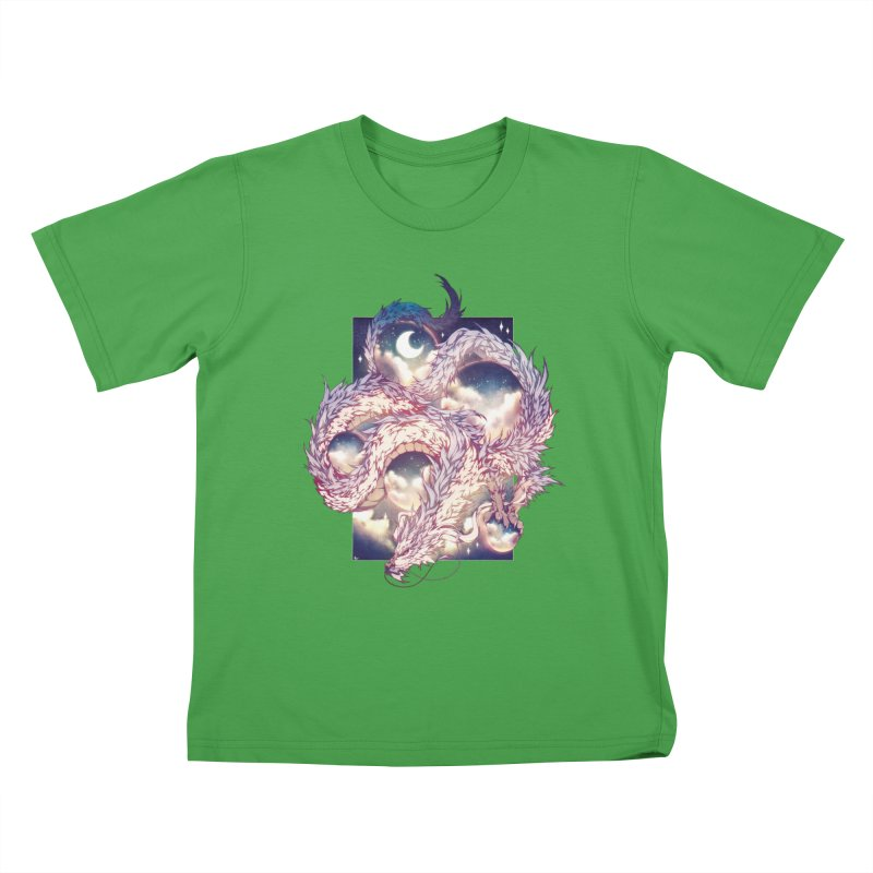 Falcor the Luck Dragon Kids T-Shirt by AdeptGamer's Merchandise