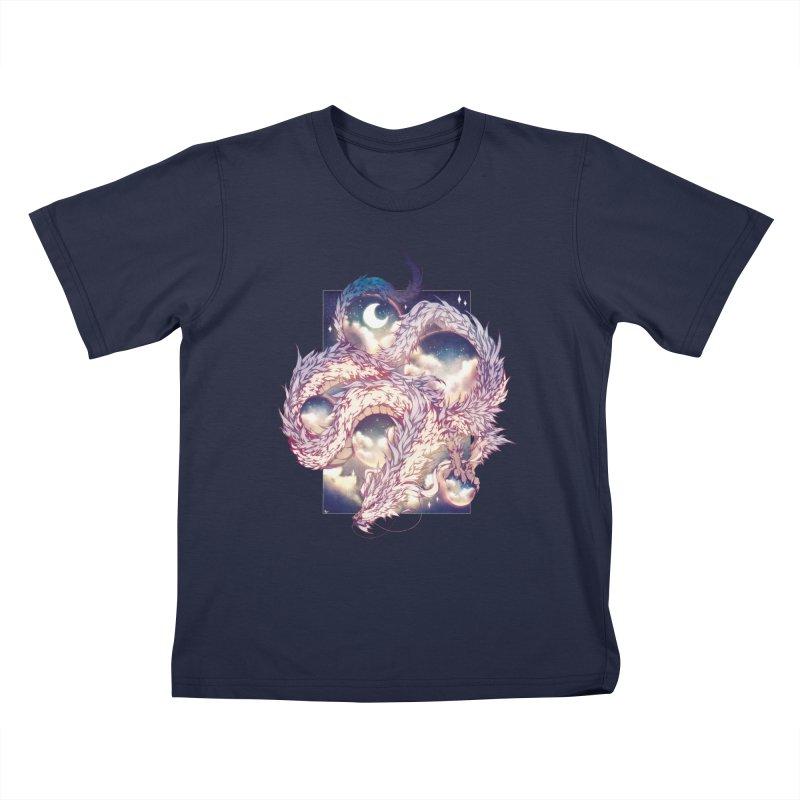 Falcor the Luck Dragon Kids T-Shirt by AdeptGamer's Merchandise