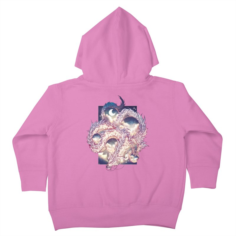 Falcor the Luck Dragon Kids Toddler Zip-Up Hoody by AdeptGamer's Merchandise
