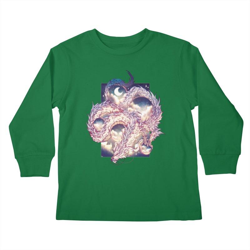 Falcor the Luck Dragon Kids Longsleeve T-Shirt by AdeptGamer's Merchandise