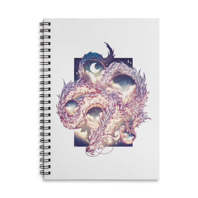 Falcor the Luck Dragon Accessories Lined Spiral Notebook by AdeptGamer's Merchandise