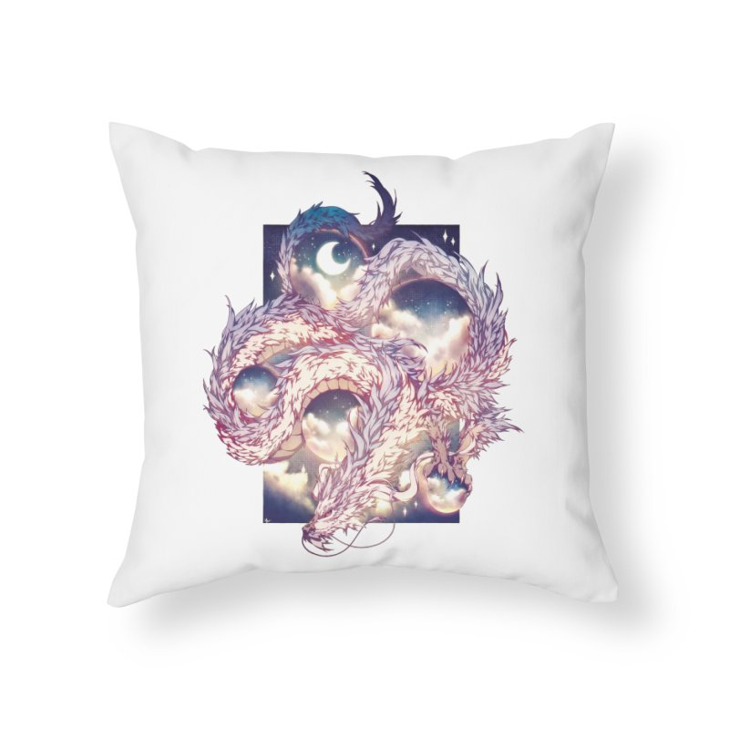 Falcor the Luck Dragon Home Throw Pillow by AdeptGamer's Merchandise