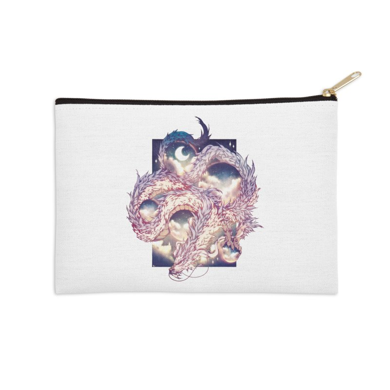 Falcor the Luck Dragon Accessories Zip Pouch by AdeptGamer's Merchandise