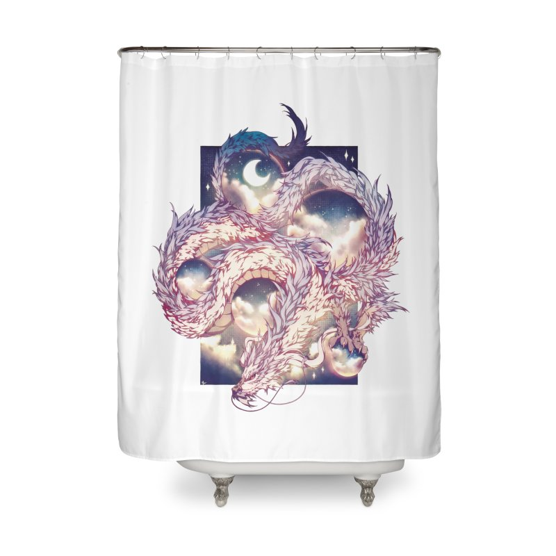 Falcor the Luck Dragon Home Shower Curtain by AdeptGamer's Merchandise