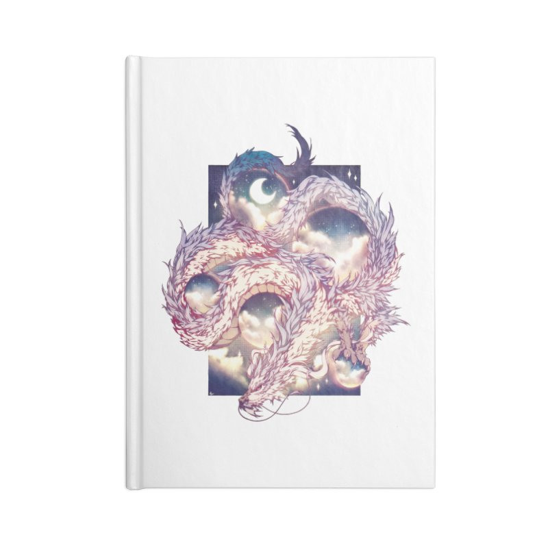 Falcor the Luck Dragon Accessories Lined Journal Notebook by AdeptGamer's Merchandise