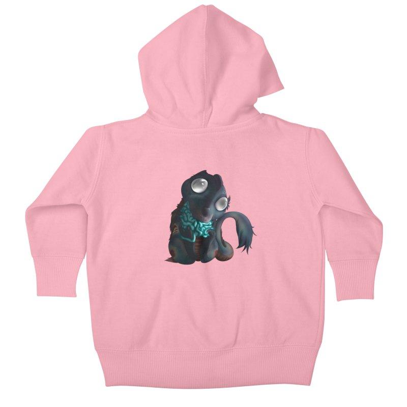 Baby Skitterjuice Kids Baby Zip-Up Hoody by AdeptGamer's Merchandise
