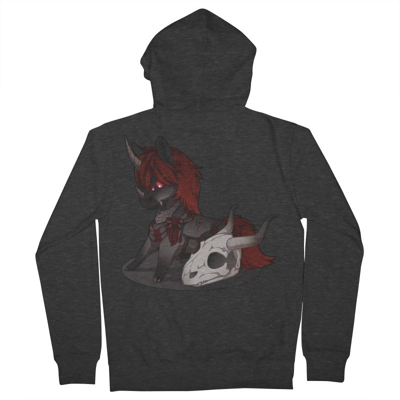 Frightmare Men's French Terry Zip-Up Hoody by AdeptGamer's Merchandise