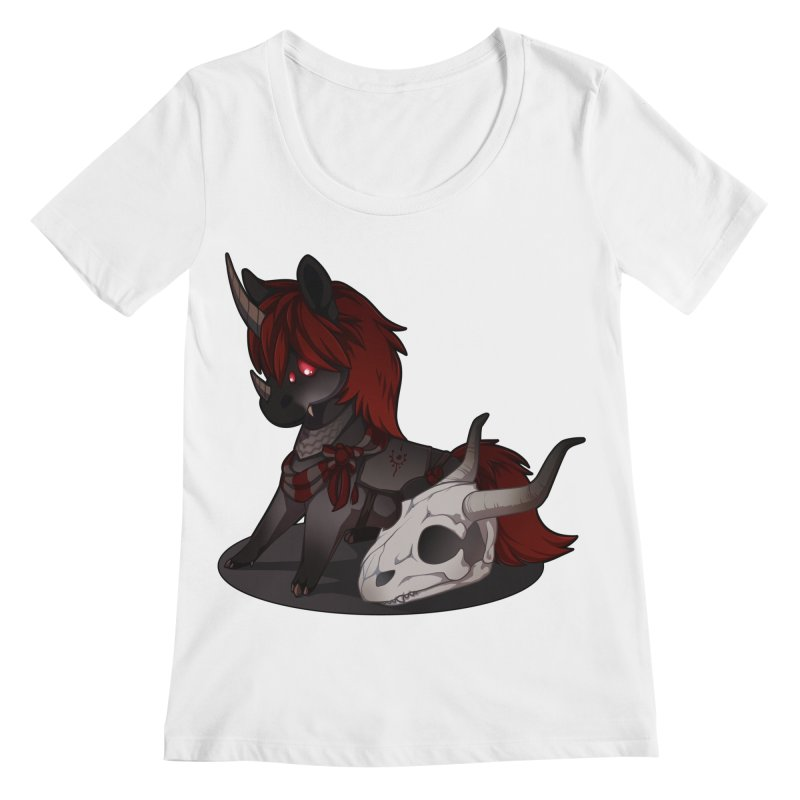 Frightmare Women's Scoopneck by AdeptGamer's Merchandise