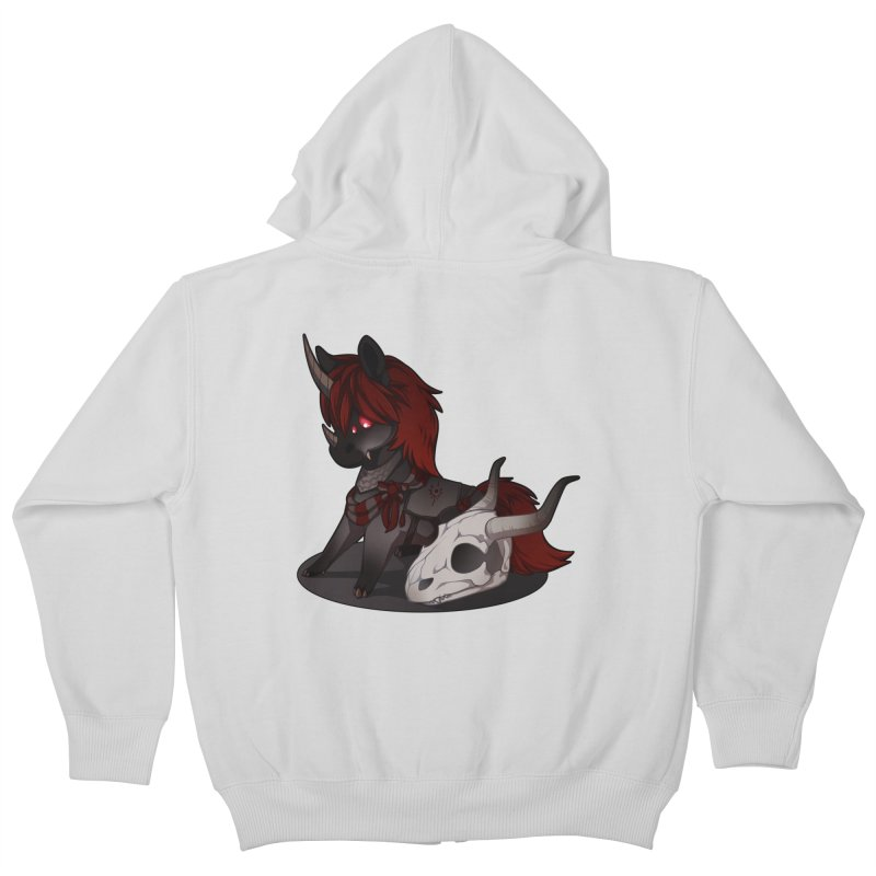 Frightmare Kids Zip-Up Hoody by AdeptGamer's Merchandise