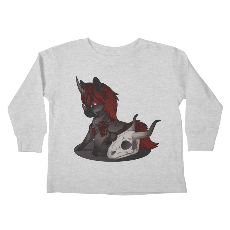 Frightmare Kids Toddler Longsleeve T-Shirt by AdeptGamer's Merchandise