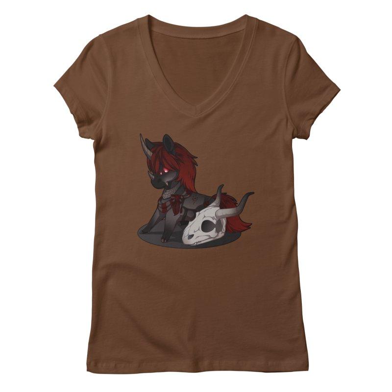 Frightmare Women's V-Neck by AdeptGamer's Merchandise