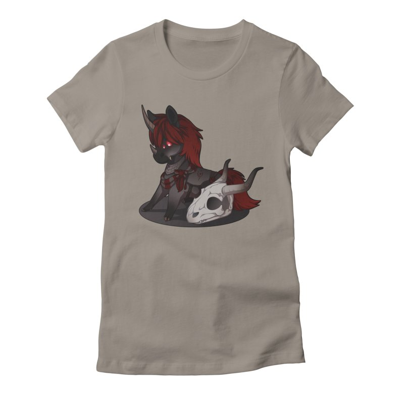Frightmare Women's Fitted T-Shirt by AdeptGamer's Merchandise