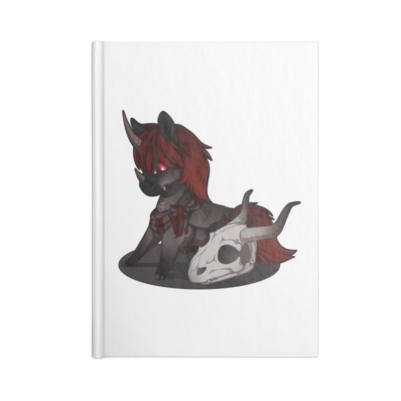 Frightmare Accessories Blank Journal Notebook by AdeptGamer's Merchandise