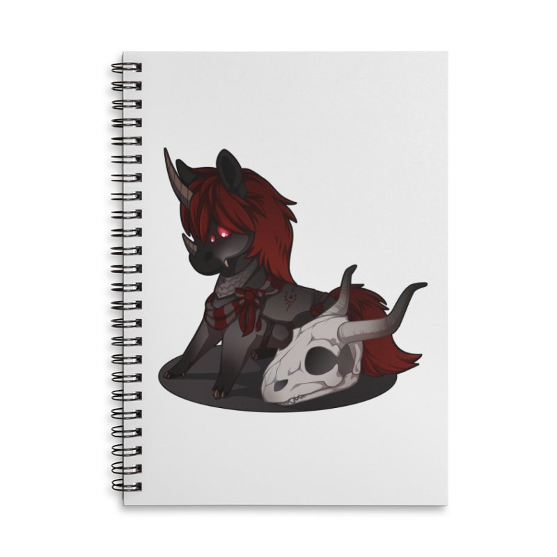 Frightmare Accessories Lined Spiral Notebook by AdeptGamer's Merchandise