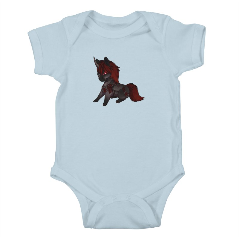 Frightmare (without skull) Kids Baby Bodysuit by AdeptGamer's Merchandise