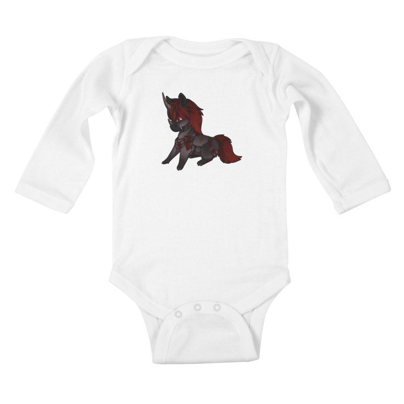 Frightmare (without skull) Kids Baby Longsleeve Bodysuit by AdeptGamer's Merchandise