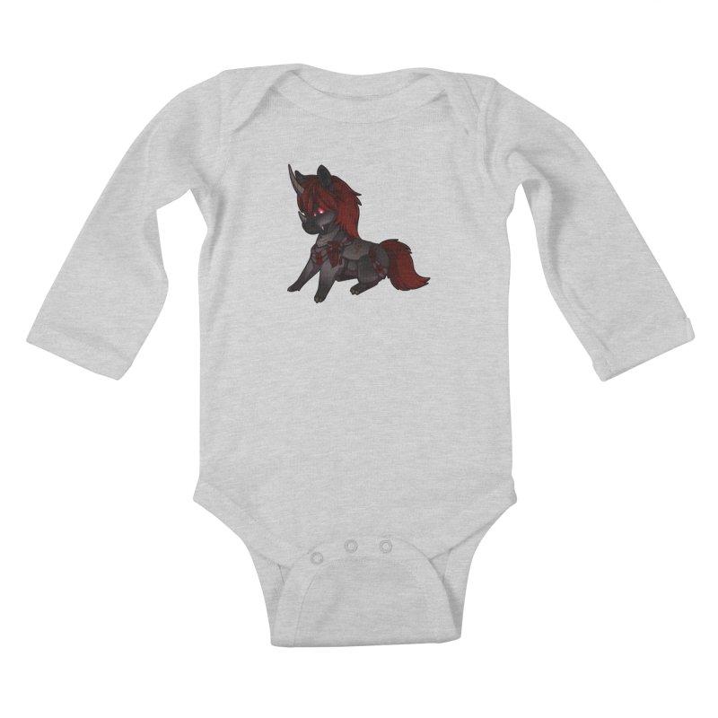 Frightmare (without skull) Kids Baby Longsleeve Bodysuit by AdeptGamer's Merchandise