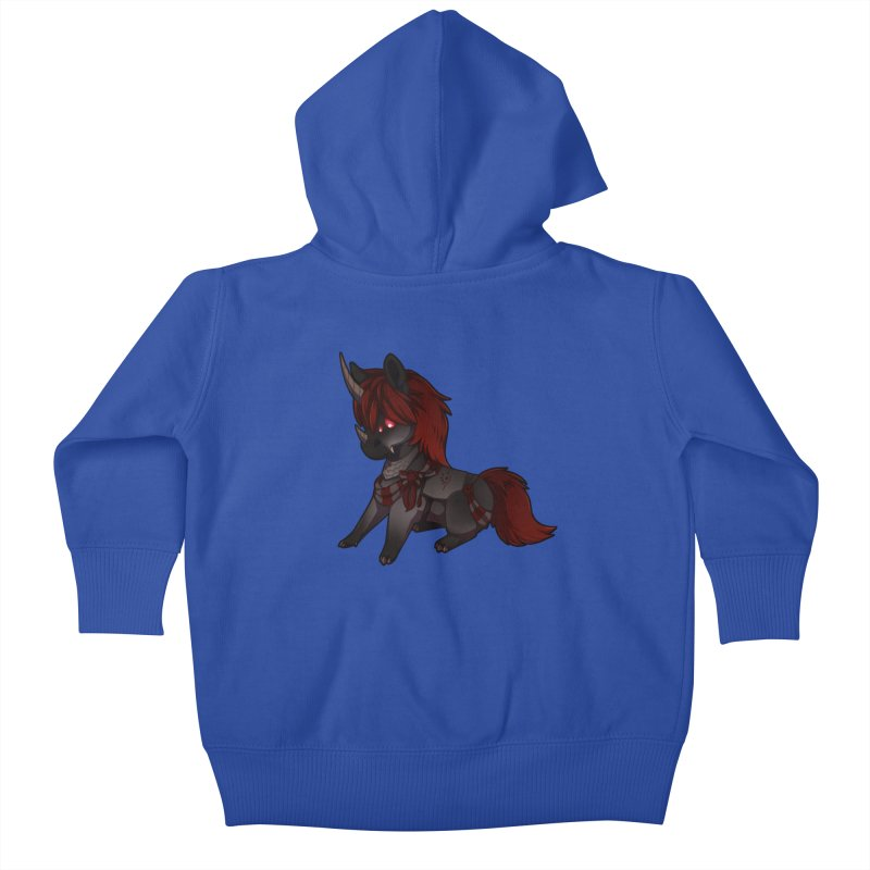 Frightmare (without skull) Kids Baby Zip-Up Hoody by AdeptGamer's Merchandise
