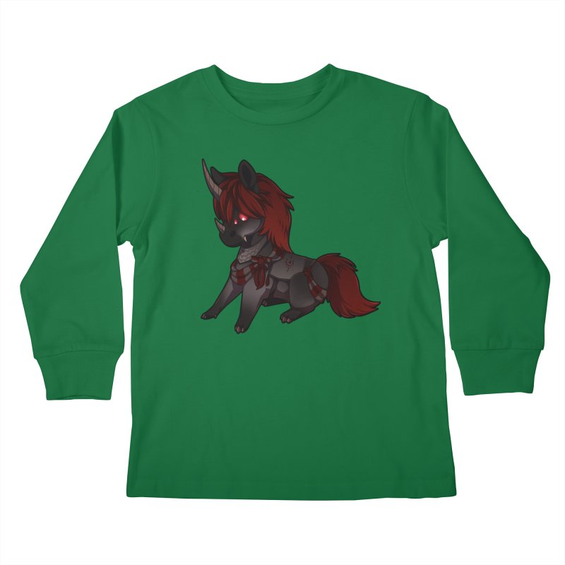 Frightmare (without skull) Kids Longsleeve T-Shirt by AdeptGamer's Merchandise