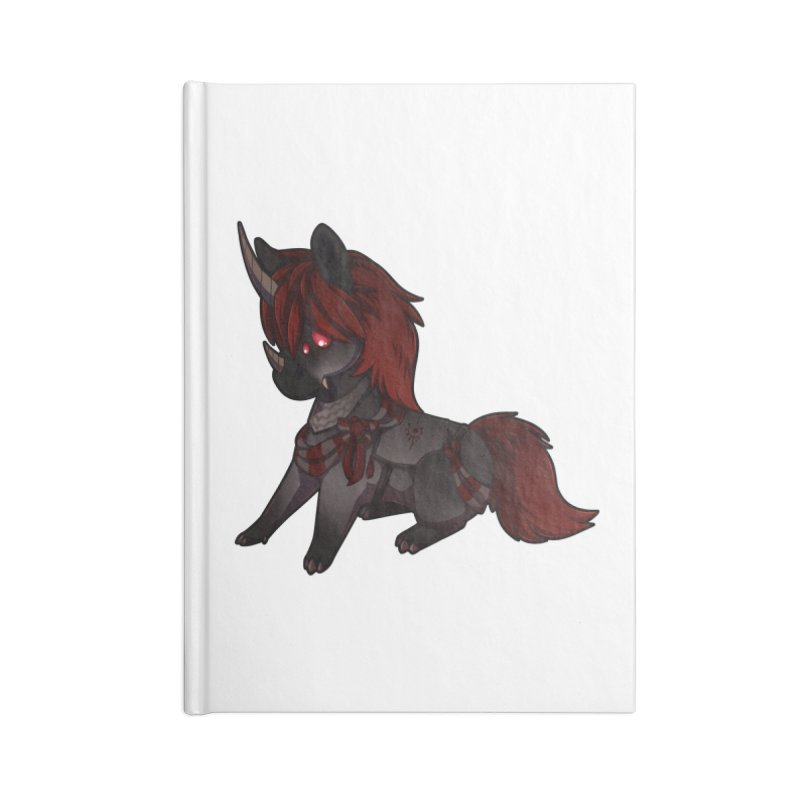 Frightmare (without skull) Accessories Lined Journal Notebook by AdeptGamer's Merchandise