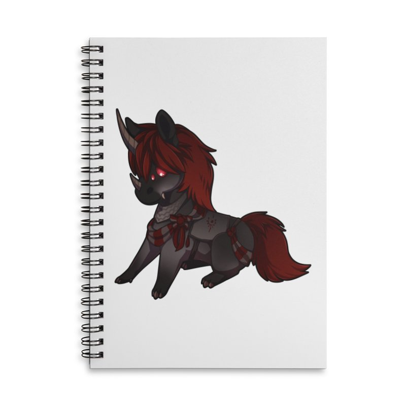 Frightmare (without skull) Accessories Lined Spiral Notebook by AdeptGamer's Merchandise
