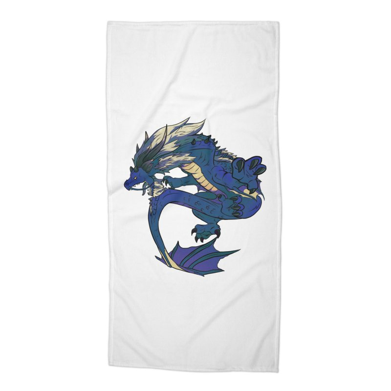 Sapphire Fortune Accessories Beach Towel by AdeptGamer's Merchandise