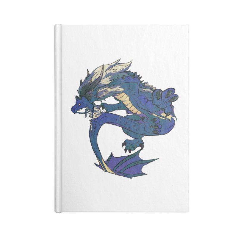 Sapphire Fortune Accessories Notebook by AdeptGamer's Merchandise