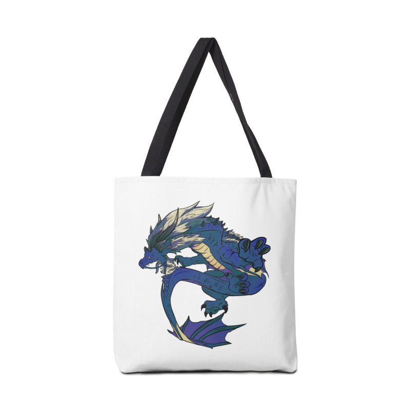Sapphire Fortune Accessories Bag by AdeptGamer's Merchandise