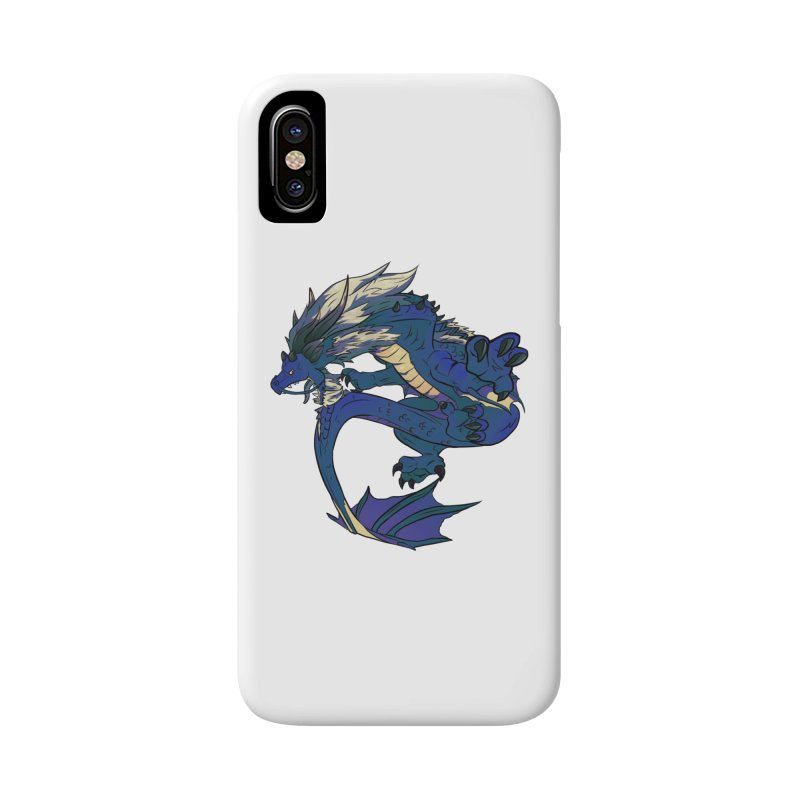 Sapphire Fortune Accessories Phone Case by AdeptGamer's Merchandise