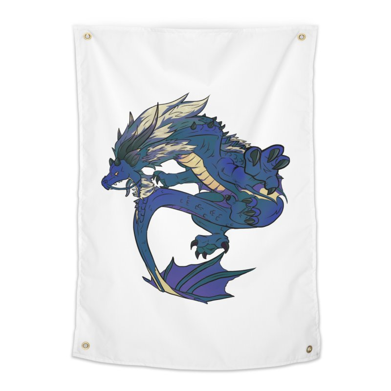 Sapphire Fortune Home Tapestry by AdeptGamer's Merchandise