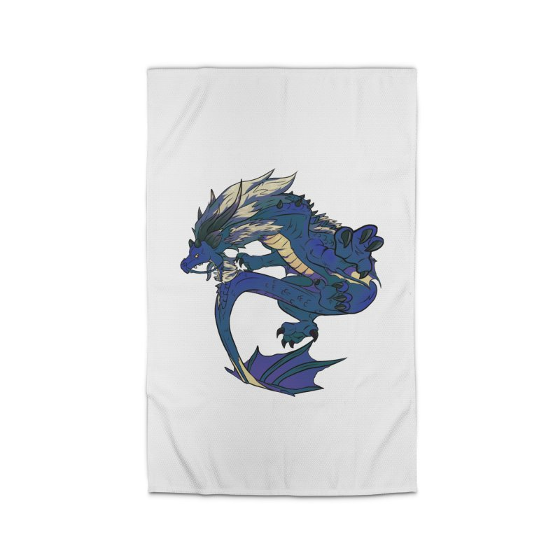 Sapphire Fortune Home Rug by AdeptGamer's Merchandise