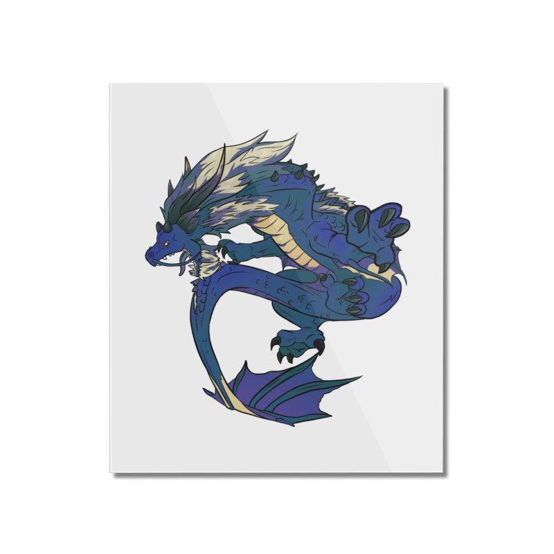 Sapphire Fortune Home Mounted Acrylic Print by AdeptGamer's Merchandise