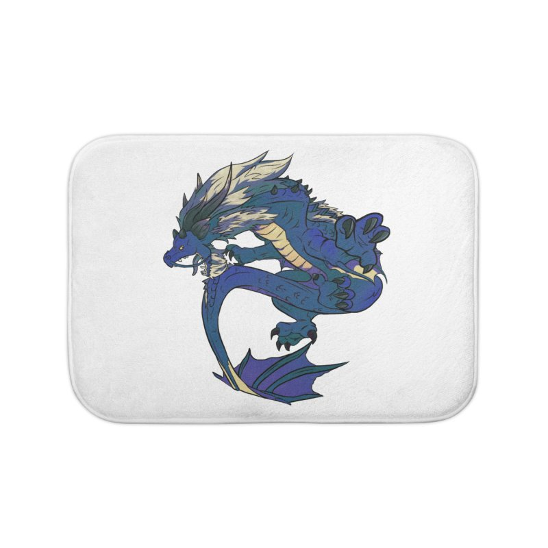 Sapphire Fortune Home Bath Mat by AdeptGamer's Merchandise