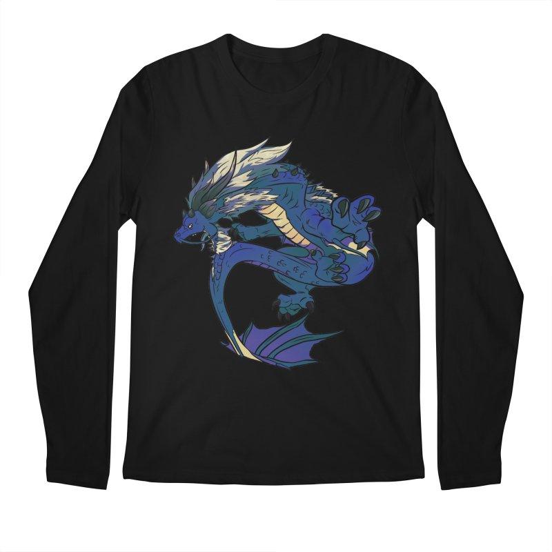 Sapphire Fortune Men's Longsleeve T-Shirt by AdeptGamer's Merchandise