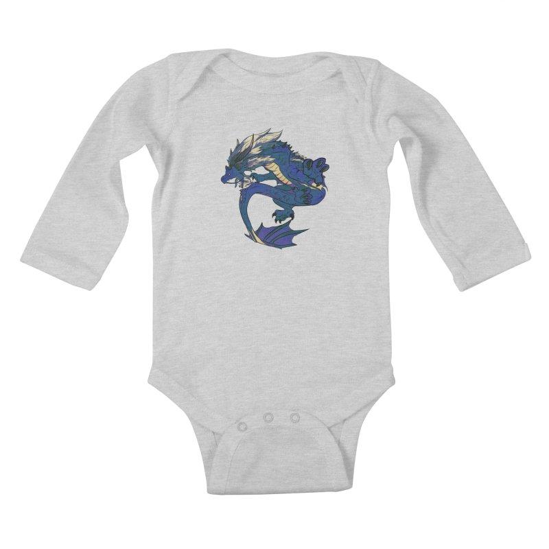 Sapphire Fortune Kids Baby Longsleeve Bodysuit by AdeptGamer's Merchandise