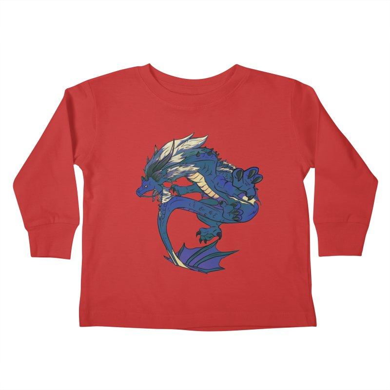 Sapphire Fortune Kids Toddler Longsleeve T-Shirt by AdeptGamer's Merchandise
