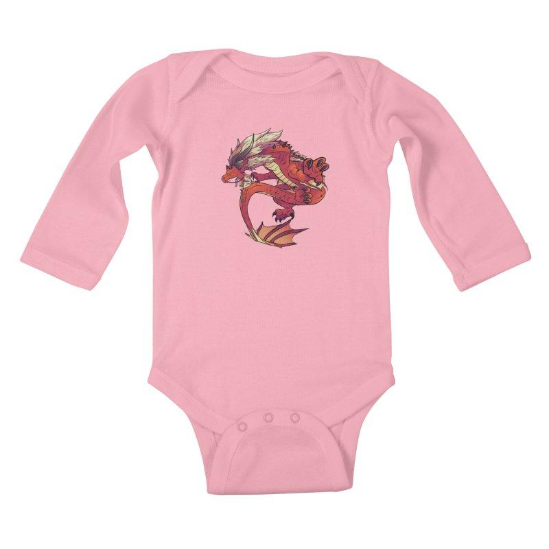 Ruby Fortune Kids Baby Longsleeve Bodysuit by AdeptGamer's Merchandise