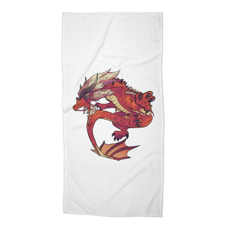 Ruby Fortune Accessories Beach Towel by AdeptGamer's Merchandise