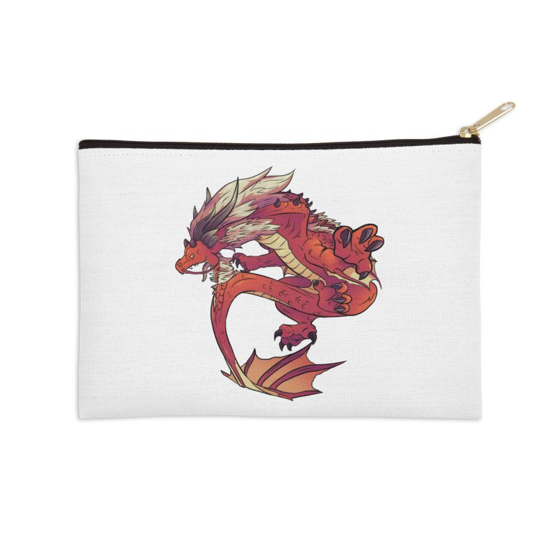 Ruby Fortune Accessories Zip Pouch by AdeptGamer's Merchandise