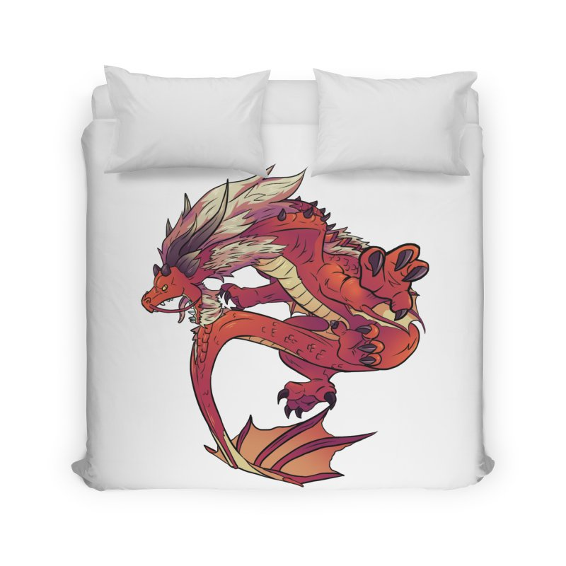 Ruby Fortune Home Duvet by AdeptGamer's Merchandise
