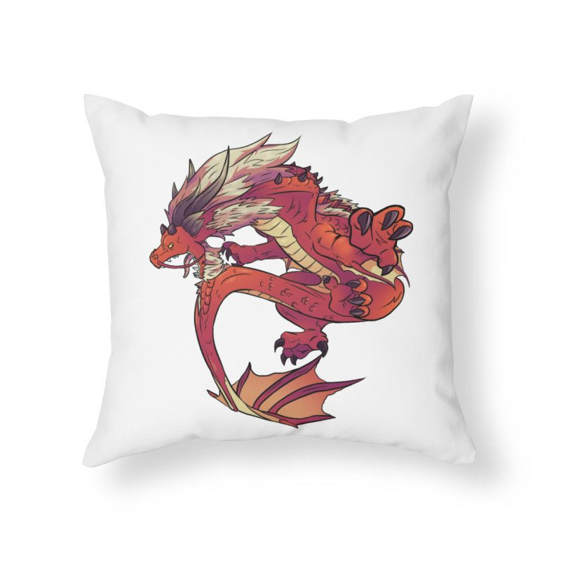 Ruby Fortune Home Throw Pillow by AdeptGamer's Merchandise