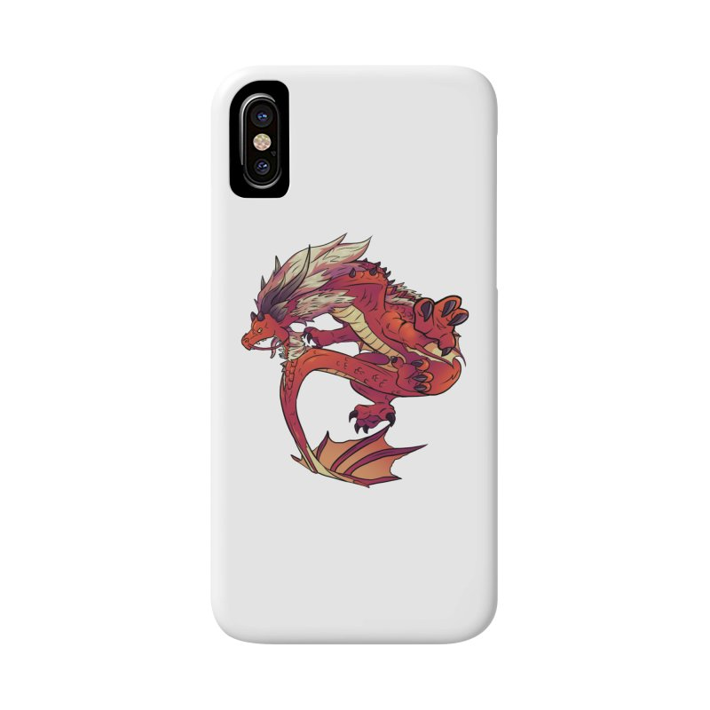 Ruby Fortune Accessories Phone Case by AdeptGamer's Merchandise