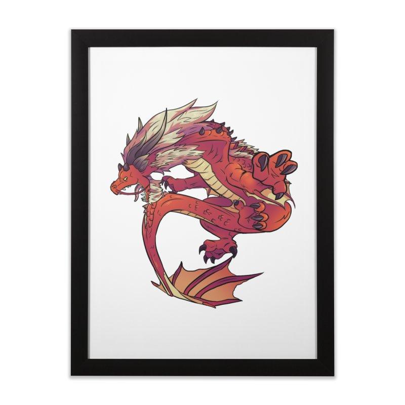 Ruby Fortune Home Framed Fine Art Print by AdeptGamer's Merchandise