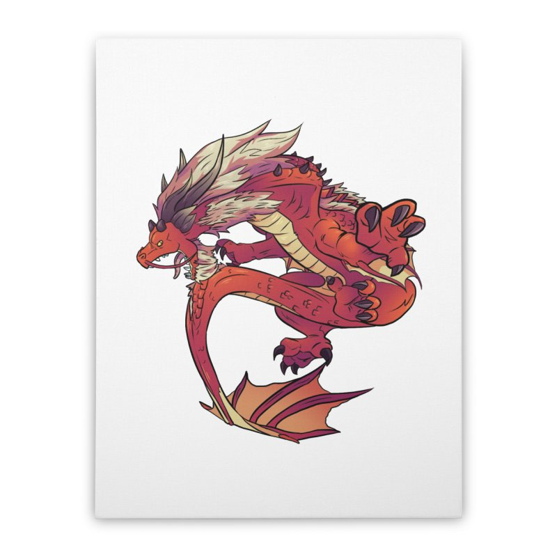 Ruby Fortune Home Stretched Canvas by AdeptGamer's Merchandise