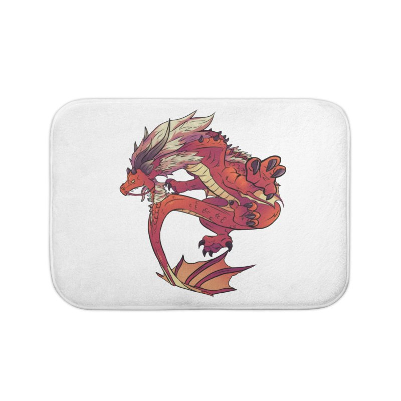 Ruby Fortune Home Bath Mat by AdeptGamer's Merchandise