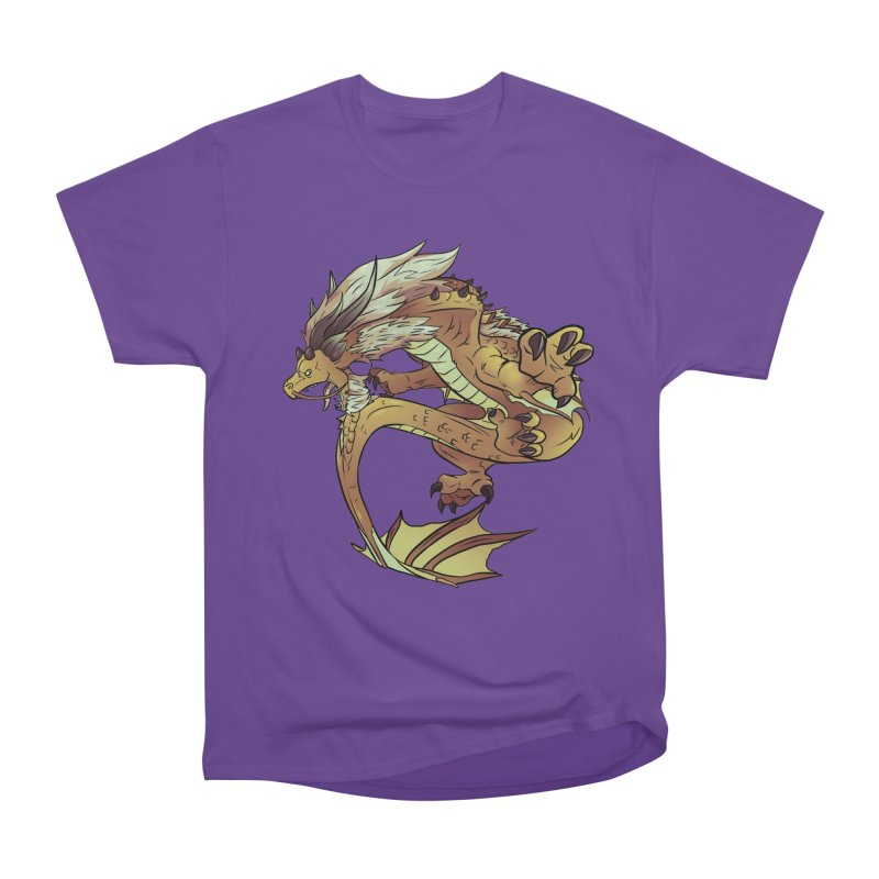Fiveclaw Gold Dragon Women's Classic Unisex T-Shirt by AdeptGamer's Merchandise