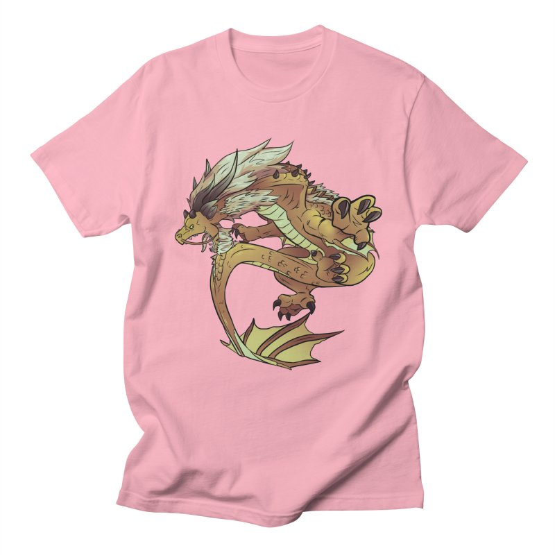 Fiveclaw Gold Dragon Women's Unisex T-Shirt by AdeptGamer's Merchandise