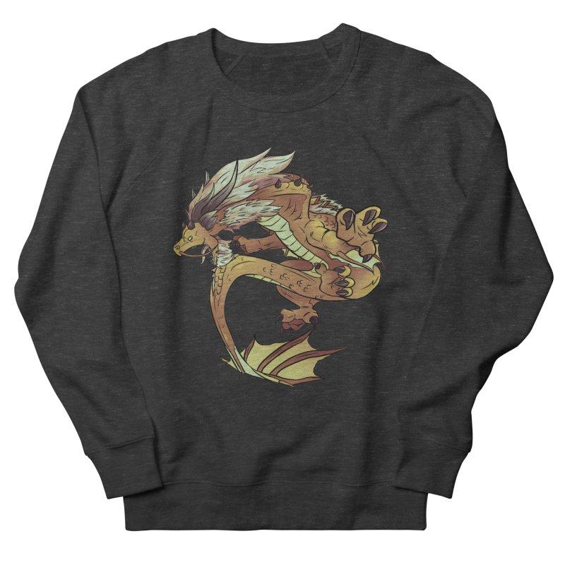 Fiveclaw Gold Dragon Women's Sweatshirt by AdeptGamer's Merchandise