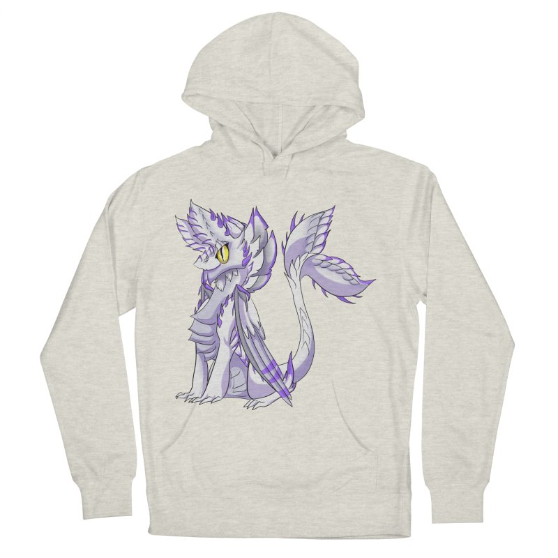 Ivory Shadow Women's French Terry Pullover Hoody by AdeptGamer's Merchandise