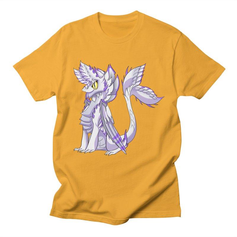 Ivory Shadow Men's T-shirt by AdeptGamer's Merchandise